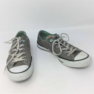 Converse Gray Sneakers Multi Tag Low Rise M6 W8
